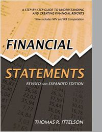 "Ittelson empowers non-financial managers by clearly and simply demonstrating how the balance sheet, income statement and cash flow statement work together to offer a ""snapshot"" of any company's financial health. Every term is defined in simple, understandable language. Every concept is explained with a basic, straightforward transaction example."
