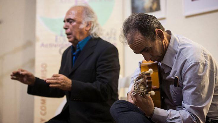 Clase magistral de cante flamenco por Jesús Chozas