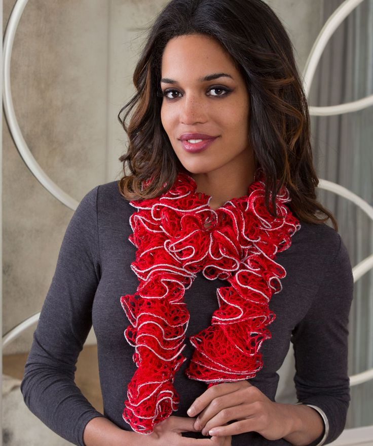 27 best Scarfs images on Pinterest   Scarfs, Ruffle scarf and Shawl