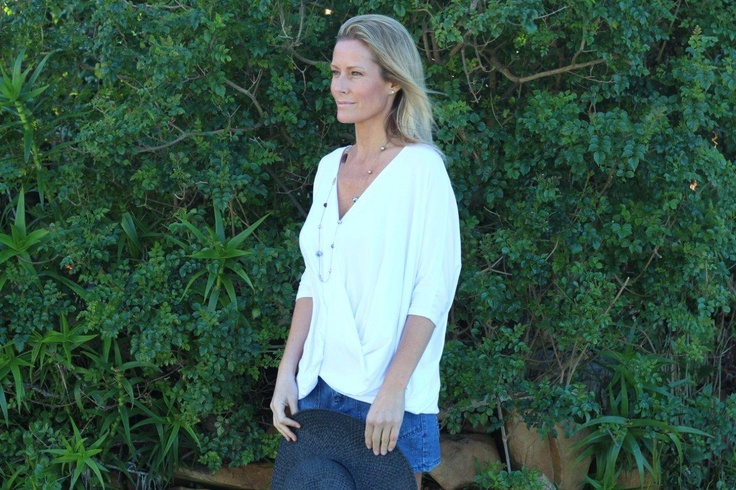 My drape top, this is a very feminine top. Soft, loose fitting sleeve. Sexy plunging v-neck. Gentle fold across the tummy so one can breath, relax and feel comfortable. Beautiful with slax, skirt or even slipped over a long fitted maxi dress x x x