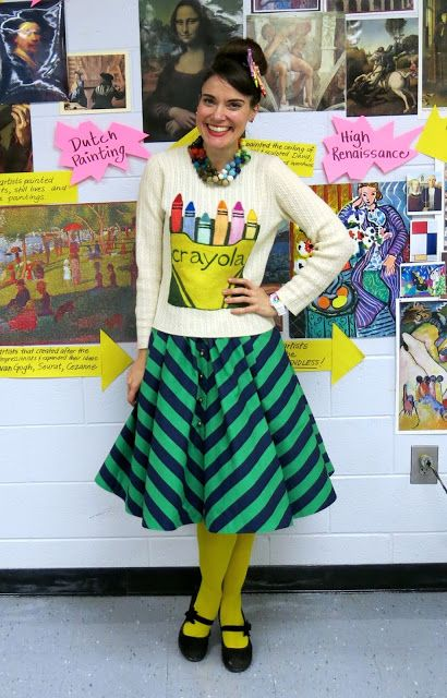 Cassie Stephens: What the Art Teacher Wore #150