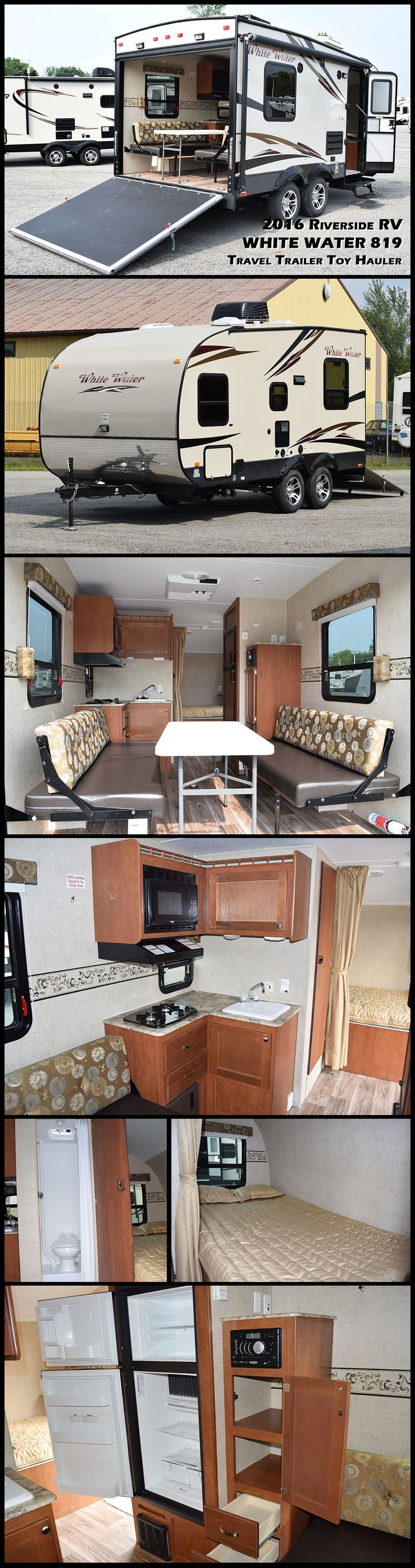 53 best toy haulers images on pinterest travel trailers fifth