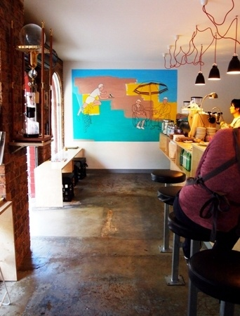PaperCup Cafe Stanmore – Mural June 2011