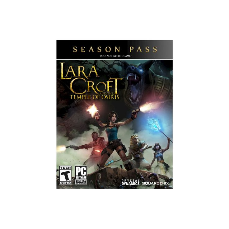 Lara Croft and the Temple of Osiris: Season Pass - Electronic Software Download PC Game