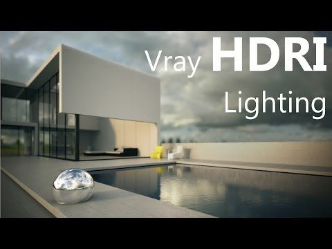 Vray HDRI tutorial in 3ds Max - YouTube