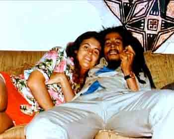 Bob Marley n Cindy Breakspeare. Parents pf Damian 'Junior Gong' Marley