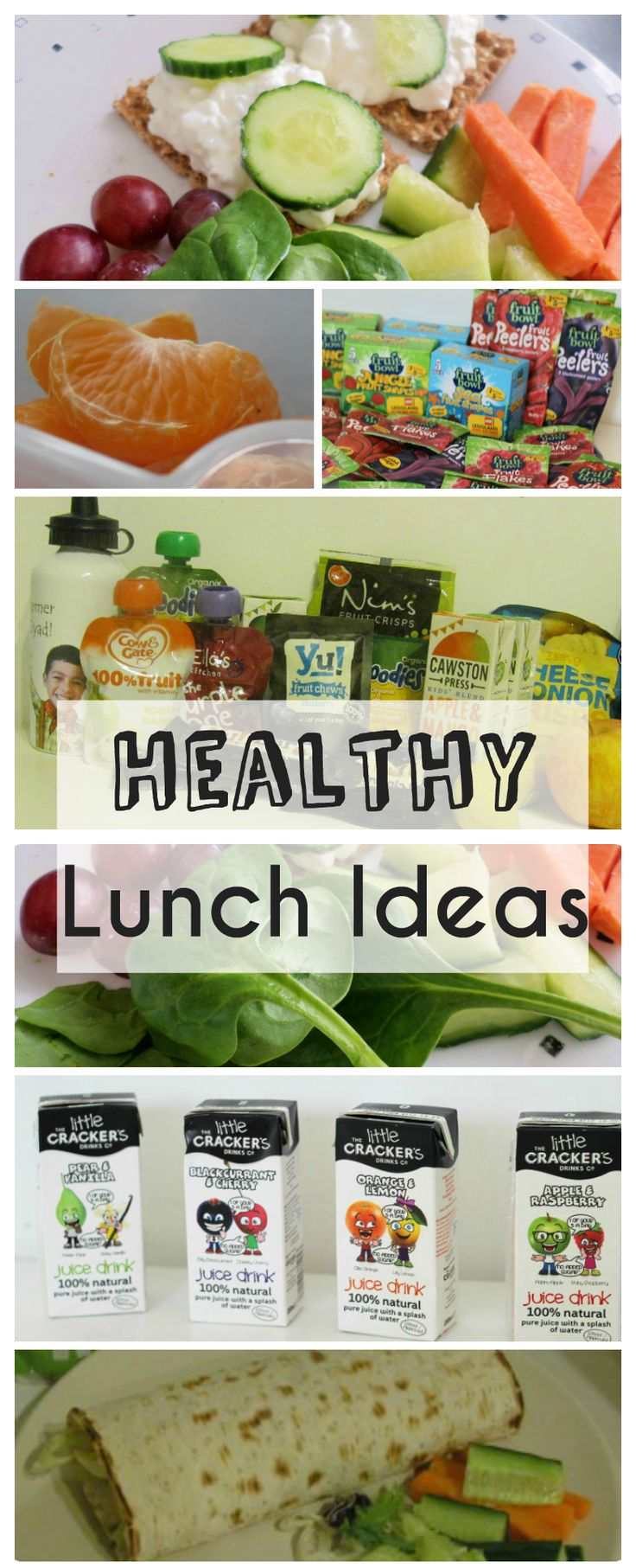 Healthy lunch ideas for back to school - I'm always looking for more variety for the kids lunchboxes!