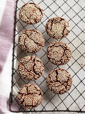 Nutty, and slightly sweet, toasted sesame seeds add texture and depth of flavor…