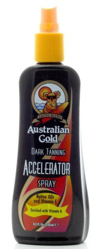 Australian Gold Dark Tanning Accelerator Spray 8.5 oz.