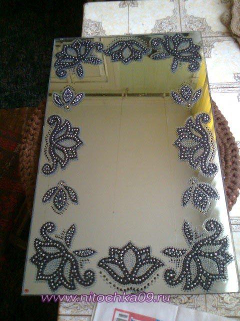 Роспись зеркал