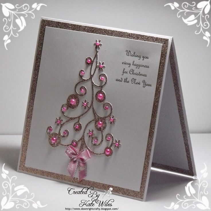 Wild Rose Studio: A Sparkly Christmas Tree