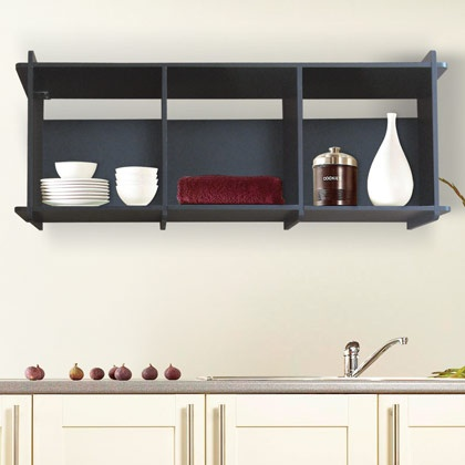 Alacena Modelo Berlín Disponible en color Chocolate y Blanco. #decoracion #cocina