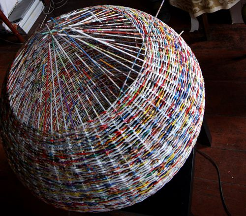 makkireQu -magdalena godawa great blog by artist that weaves with recycled materials