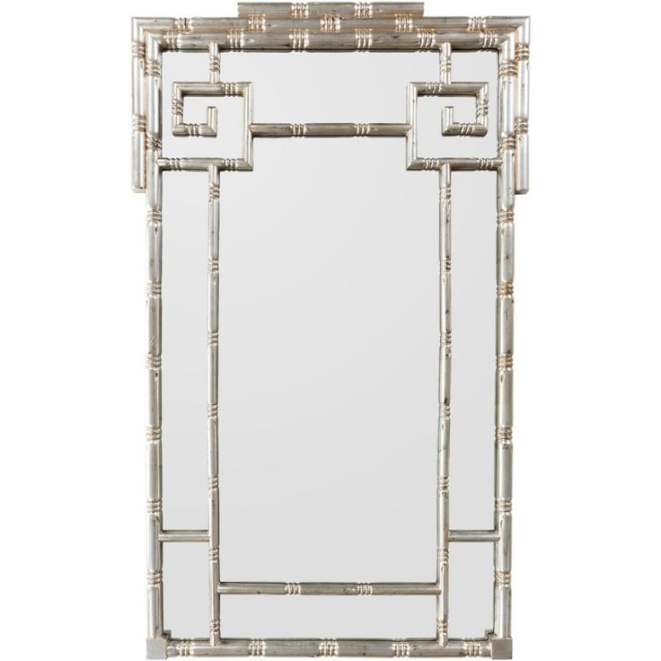 Beotrix 32 in. x 52 in. Traditional Framed Mirror