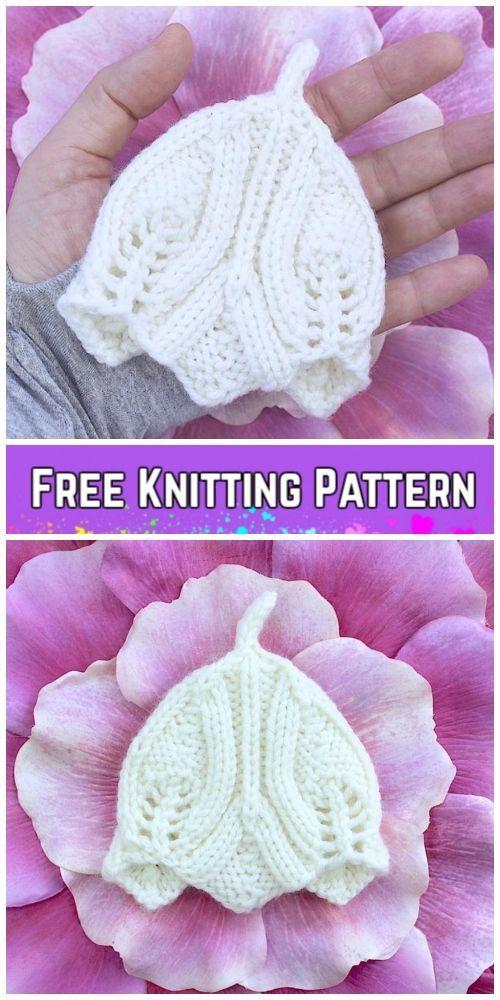 7666ba221d86 Knit Elvish Teeny Tiny Baby Hat Free Knitting Pattern