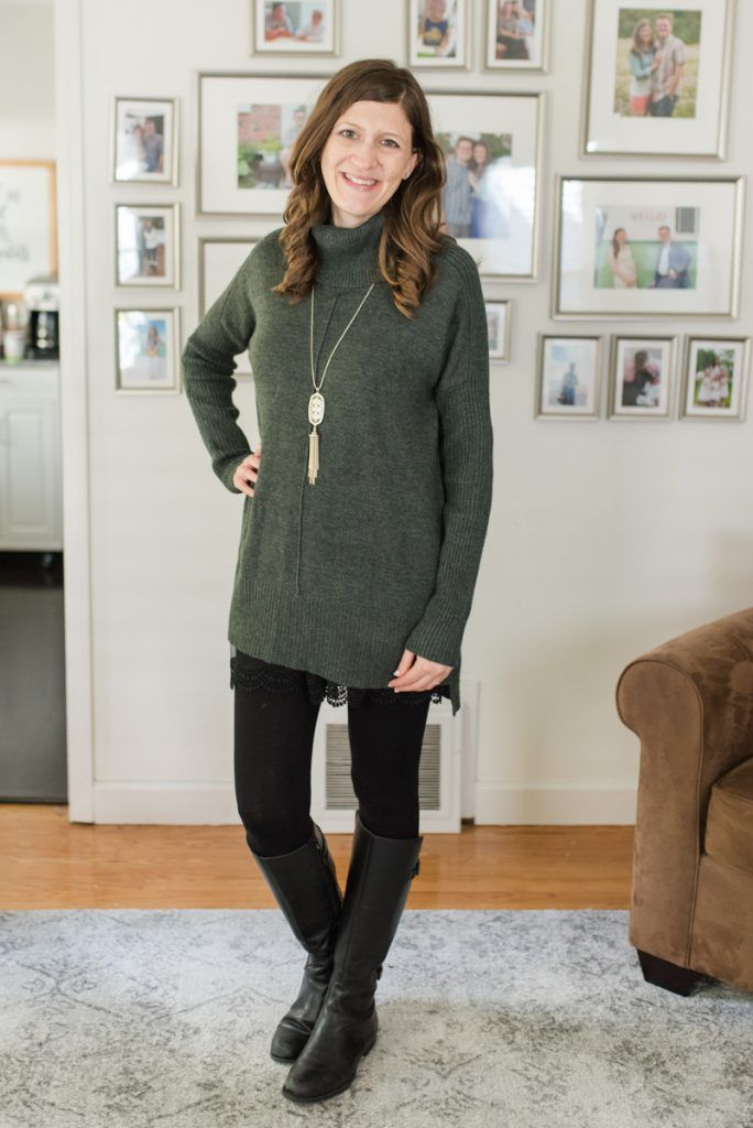 Kadie Cowl Neck Pullover from Cable & Gauge | Fall Stitch Fix review | Stitch Fix clothes | fashion blog | Stitch fix sweaters | Crazy Together blog