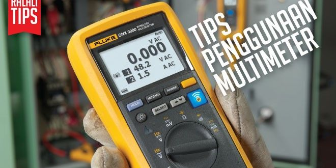 Tips menggunakan Digital Multimeter | ralali News