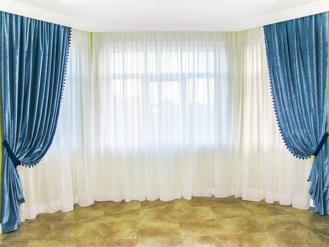 Купить шторы для гостиной в интернет-магазине Niltex, Украина