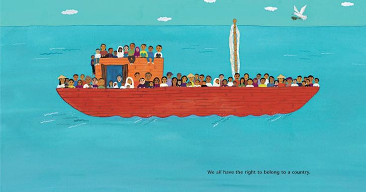 We Are All Born Free is a picture book celebrating the Universal Declaration of Human Rights. See how leading children's illustrators have interpreted the articles