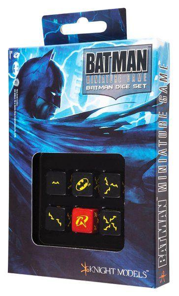 QW BATMAN MINIATURE GAME - BATMAN SET D6 - SanvyStore - Tienda Online de Articulos de Regalo, Juguetes y Juegos de Mesa