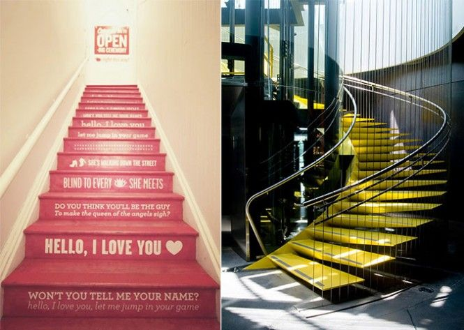 red traditional staircase Jim Morrison song lyrics  這讓我想起漢堡的電梯