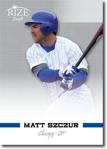 2012 RIZE Draft Prospects Card #87 Matt Szczur - Chicago Cubs (Rookie / Prospect ) MLB Trading Card