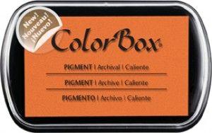 Stempelkussem Colorbox Oranje