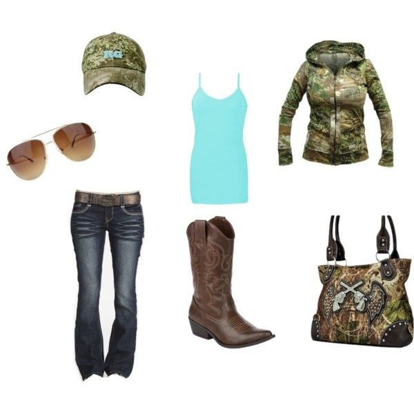 Coutry Girl Camo by lshahan on Polyvore