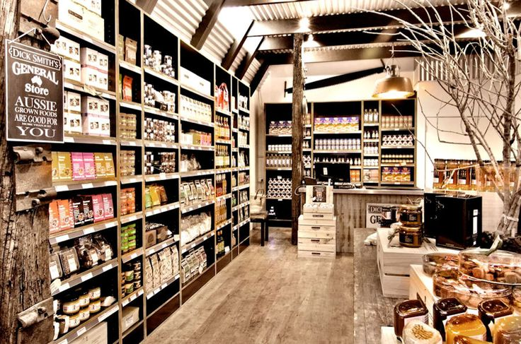 "This is a very cool ""general store"" - I love the styling of it, and the fact that it sells only Aussie grown and made food and gift hampers. They have a great online shop too. You've done it again, Dick! http://www.justweb.com.au/food/gourmet-food-hampers.html"