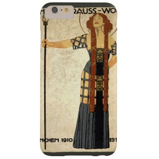 Vintage Kunst Nouveau, viktorianische Frau Barely There iPhone 6 Plus Hülle
