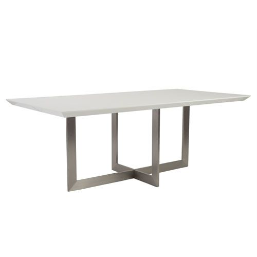 Tosca White Dining Table