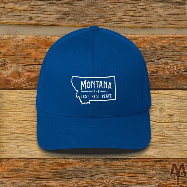 Montana The Last Best Place, Ball Cap