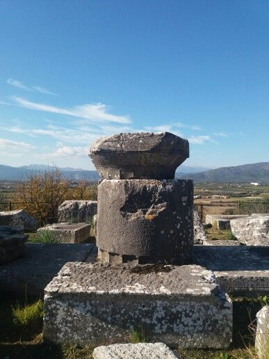 Ο ναός του Δία στην αρχαία Στράτο