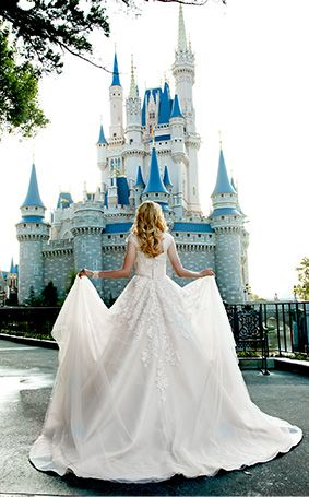 Enchanted and fairy tale inspired portrait session at Disney's Magic Kingdom