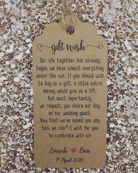 Wedding Gift Poems For Money For Honeymoon: Wedding Money Gift Poem, Honeymoon, Wishing Well
