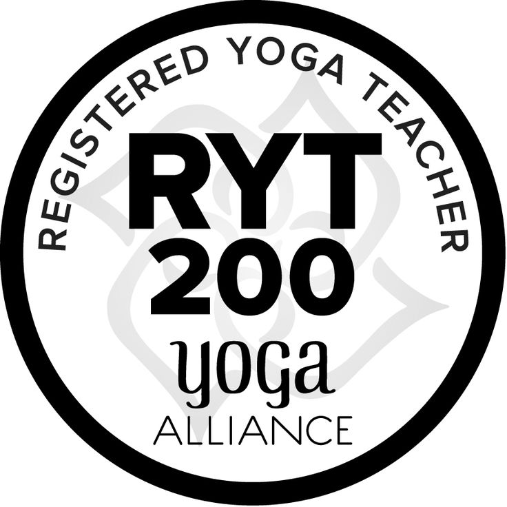 Become a Registered Yoga Teacher (RYT). Only 200 hours of  yoga teacher training/ about 8 weeks approx $2500 investment- yogaalliance.org