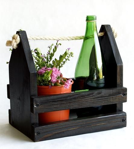 Reclaimed Wood Crate | This rustic wood crate serves as a fantastic receptacle for al... | Decor