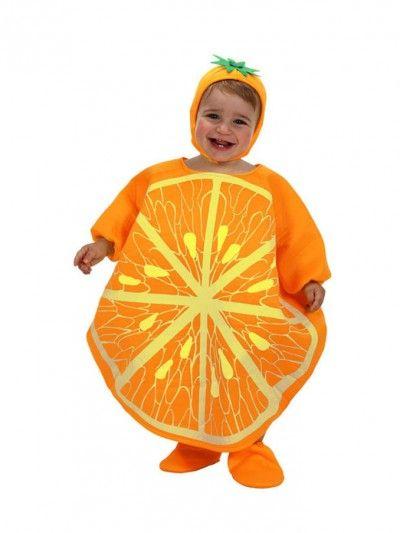 #disfraz de #naranja para #bebe #carnaval. 15,00€.