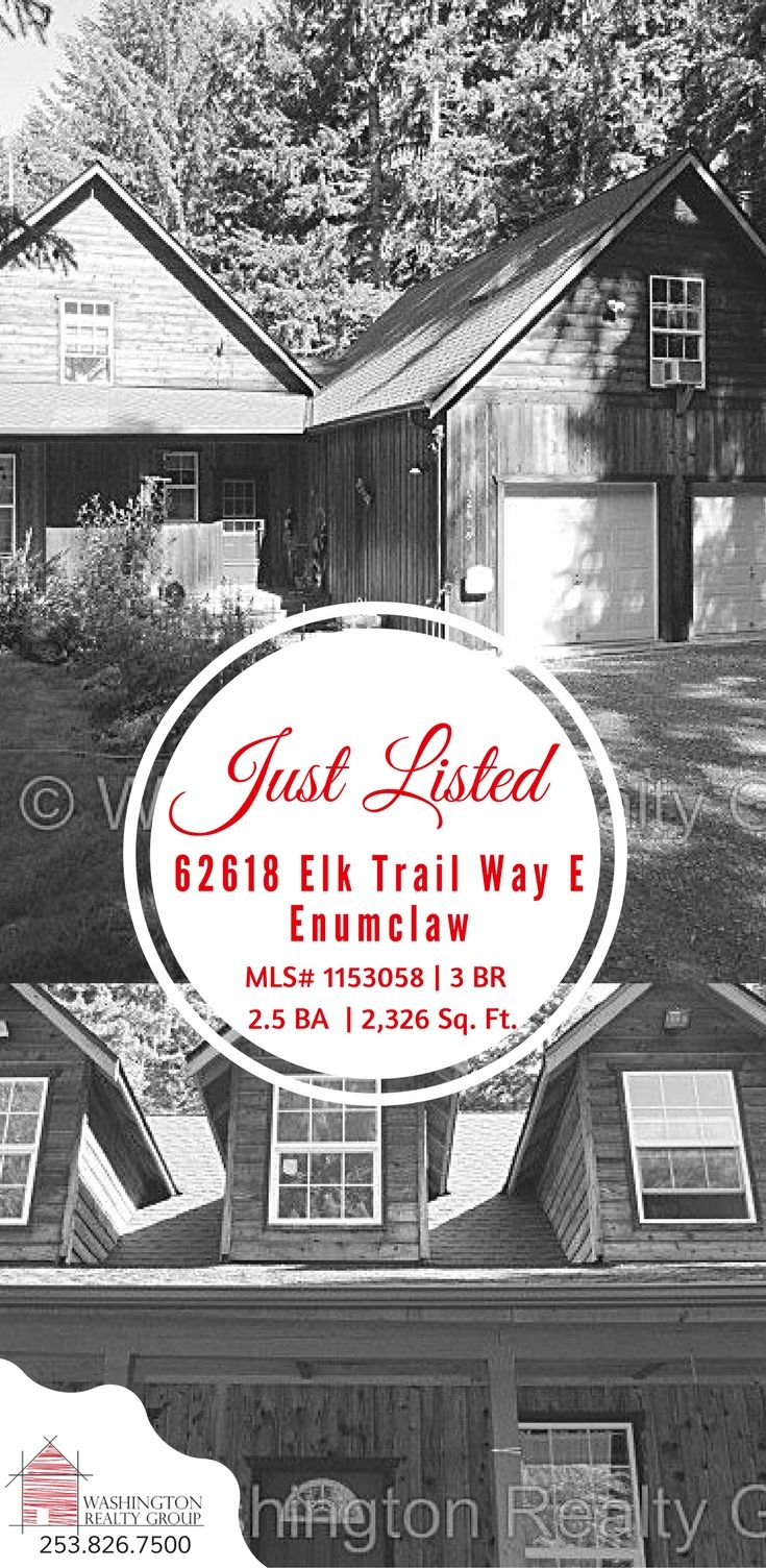 Home for Sale in Enumclaw 98022 62618 Elk Trail Way E