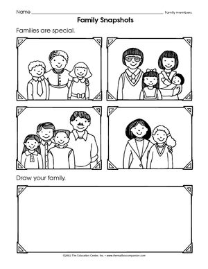 types of families worksheet - Google Search