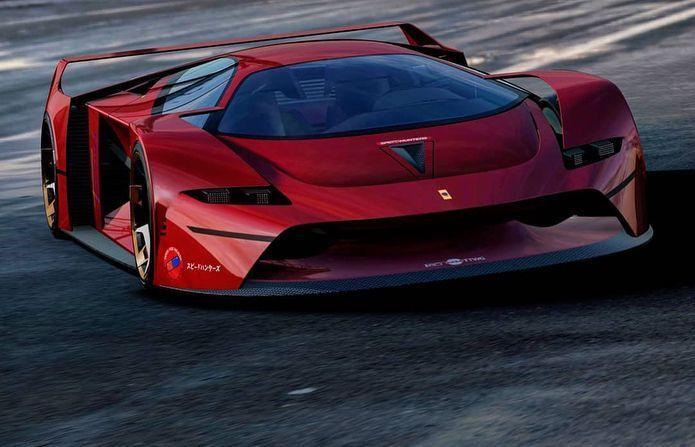 Comment Dessiner Des Voitures Rapidement Et Facilement Avez Vous Une Passion Pour Les Voitures Et Les Dessiner Maint Ferrari F80 Ferrari Concept Car Design