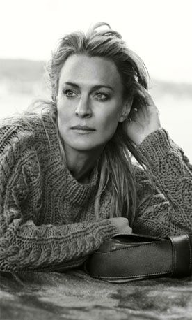 "Robin Wright... from _Princess Bride_ to ""House of Cards"" . . . fabulous."