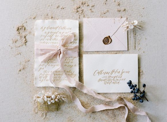 Coastal Bride and Bridesmaid Inspiration | Wedding Sparrow | Love Note Photography