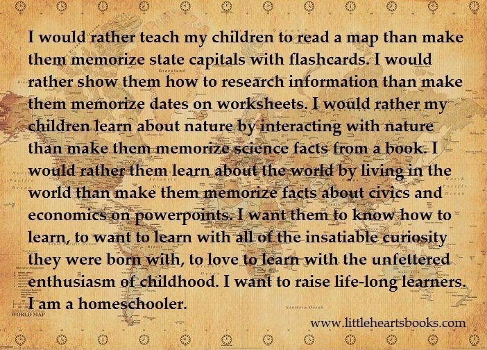 Image result for homeschooling life long learners