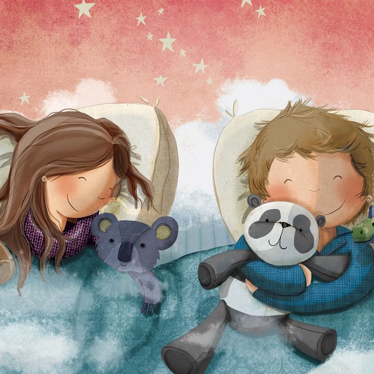Happy ‪#‎NationalBestFriendsDay‬!   Illustration by Charlotte Cooke from 'Wish Upon A Dream'.