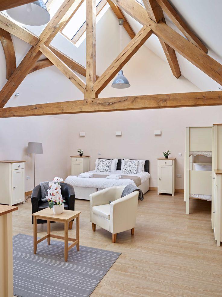 Tynrhyd Retreat – Commercial contemporary barn complex | Welsh Oak Frame #sapce #oak #light #oak #truss #wood #wooden #home #house #barn