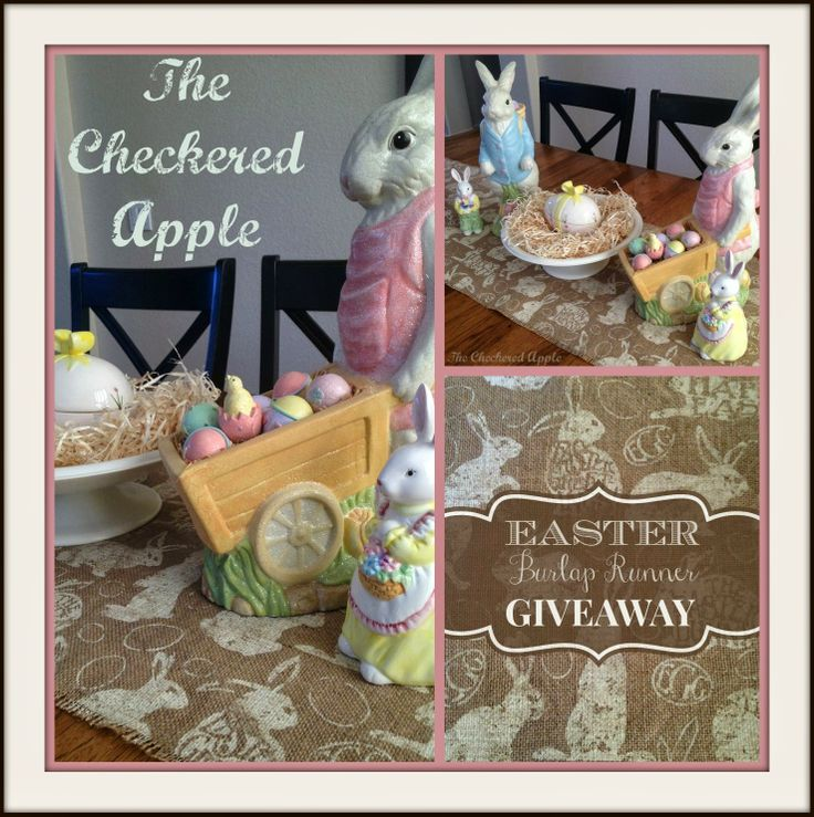The Checkered Apple SPRING GIVEAWAY