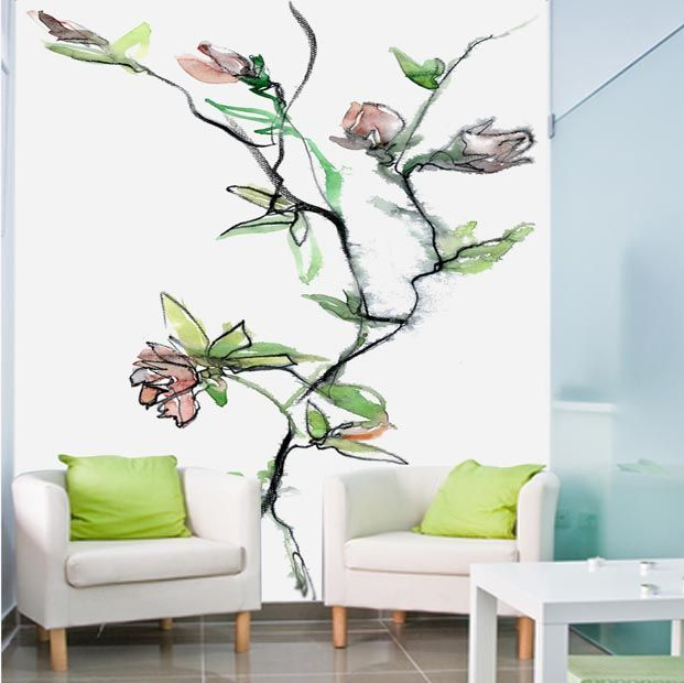 Art wall paper by Finnish fashion designer Jukka Rintala. Buy at www.art4u.fi.