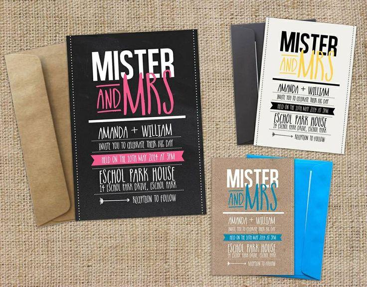 Mister and Mrs design!