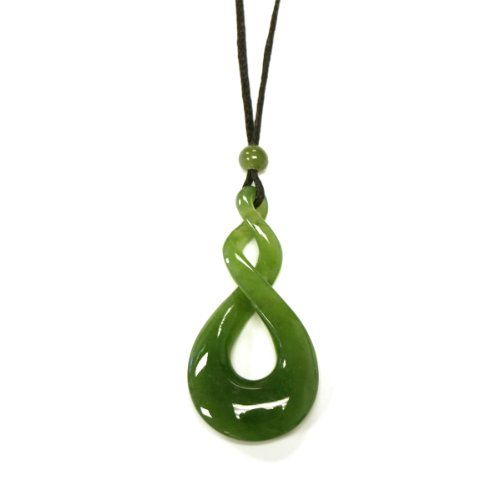 dp jade necklace plated sterling silver quot teardrop amazon green com rhodium pendant jewelry